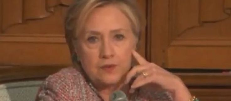 """Hillary Clinton hits back: """"The Republican Party is imploding"""" (video)"""