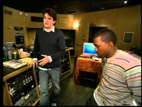 Kanye West and John Mayer recording Bittersweet