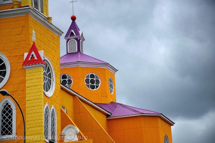 Detalle - Iglesia San Francisco de Castro (Chiloe - Chile)