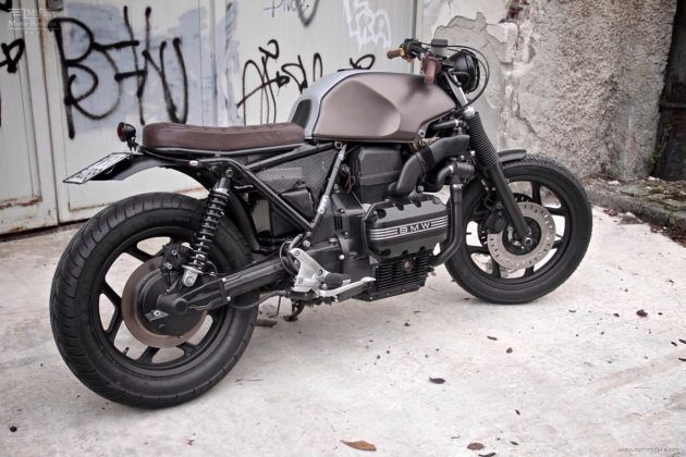 Top Five Bmw K100 Cafe Racer Build Kit - Circus