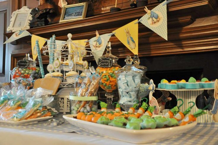 Peter Rabbit Christening Party | CatchMyParty.com