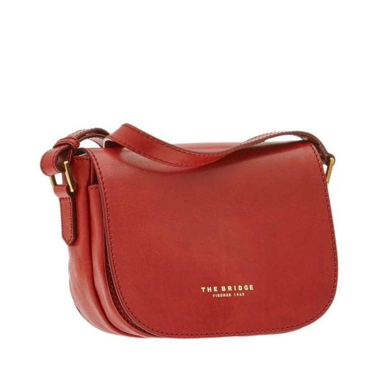 Collezione borse a tracolla The Bridge Primavera Estate 2016 - Messenger rossa