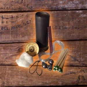 Shotgun Shell Survival Kit in Black