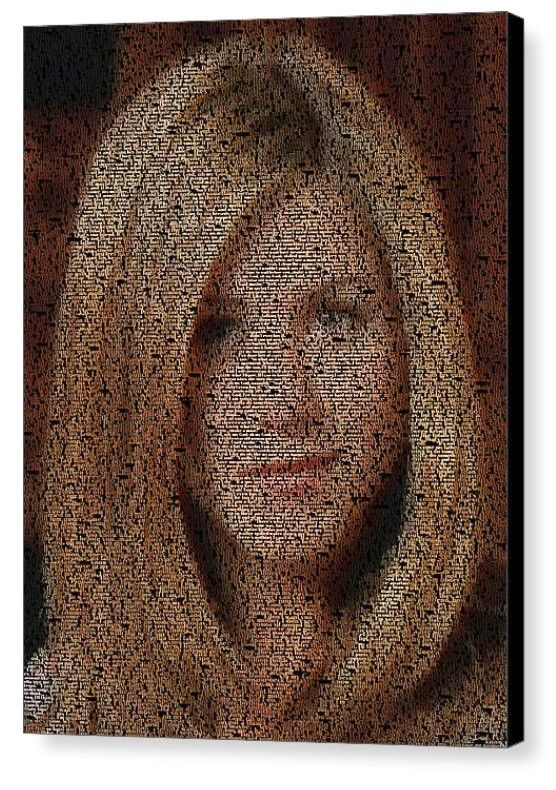 FRIENDS TV Show Rachel Green Quotes Mosaic INCREDIBLE