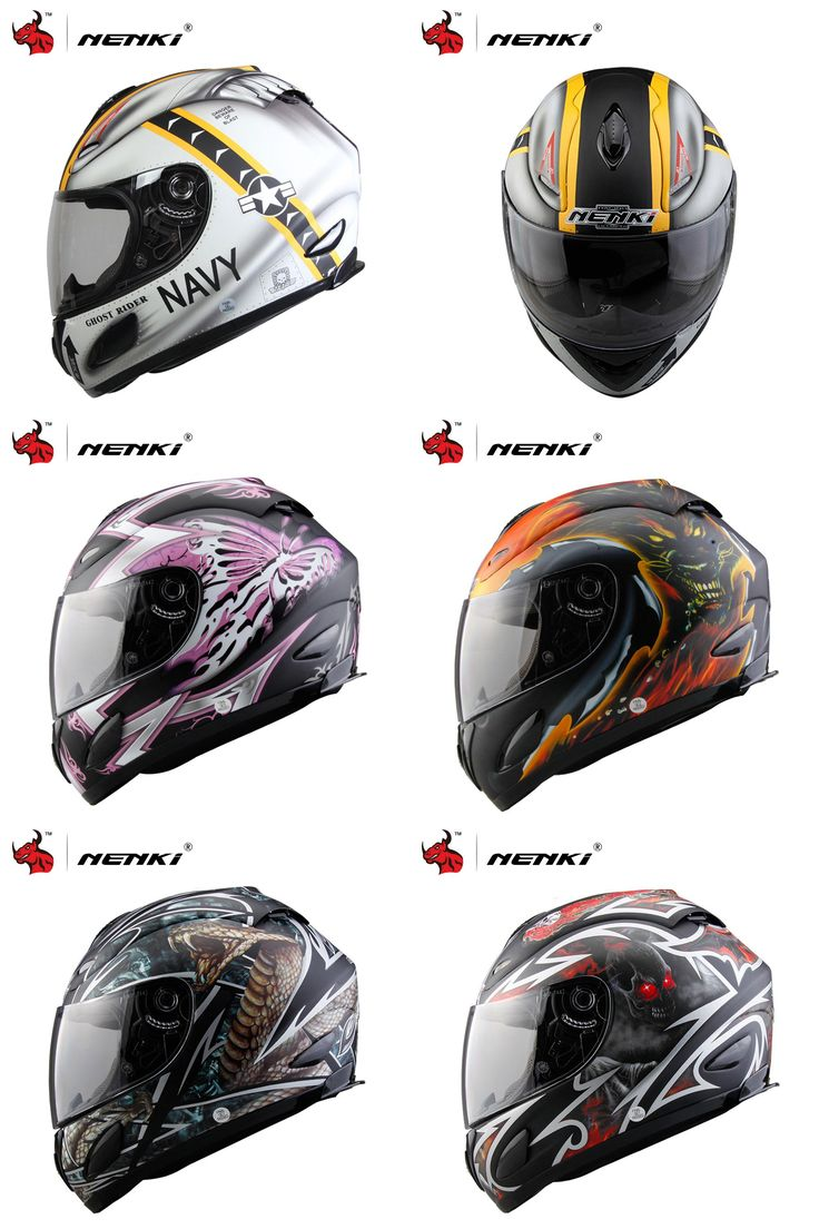 [Visit to Buy] NENKI Motorcycle Full Face Helmet casque moto Racing Motocross Helmets Capacetes Motociclismo DOT Certification With Clear Lens  #Advertisement