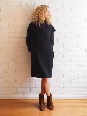 Yuki Dress Pattern - Patterns - Tessuti Fabrics - Boutique en ligne de tissus - Coton, lin, soie, mariée et plus