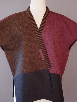Juanita Girardin Inkle weave the collar?