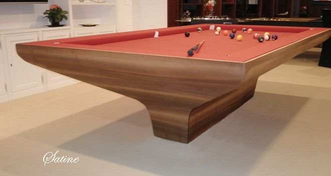 34 best images about modern pool tables on pinterest for Table unique design