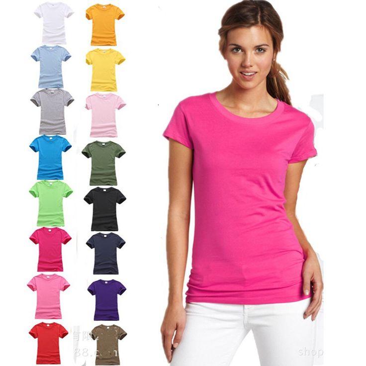 Plain Women T-shirts  100%/180 g cotton round neck & casual wear...   http://p.nembol.com/p/NJz=brlNb Happily published via Nembol