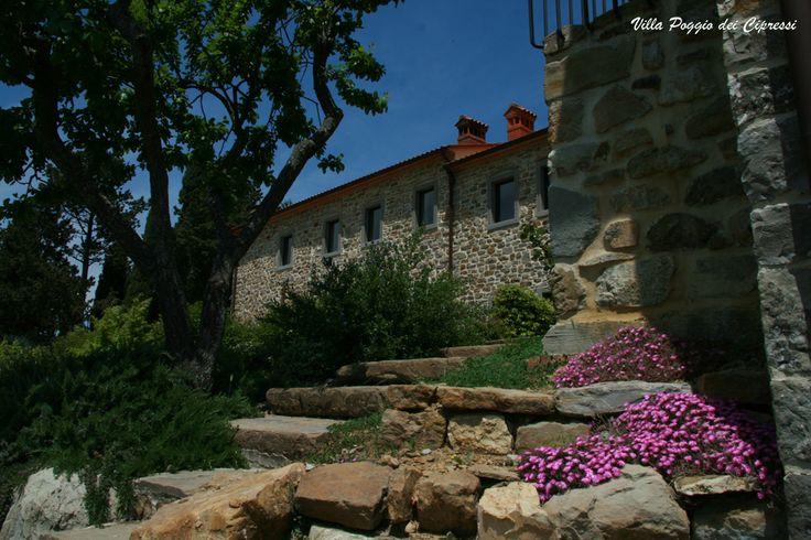 Villa Poggio dei Cipressi #Tuscany #Landscape near #Arezzo in #Casentino region  1 salvataggio