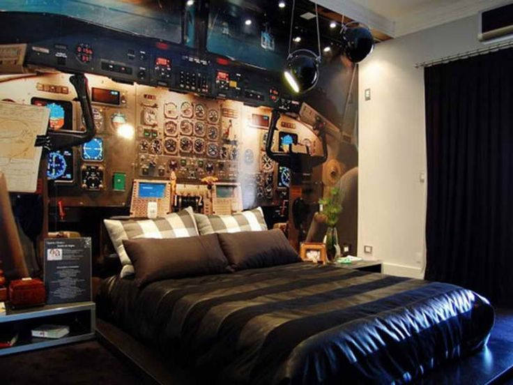 Interior Bedroom Design For Teenage Boys Black Themed