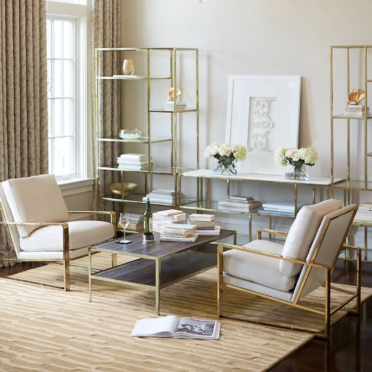 Clean And Modern, This Bernhardt Living Room Is The Essence Of Elegant  Simplicity. Create