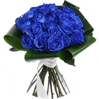Букет из 21 синей розы с бесплатной доставкой в Москве http://www.dostavka-tsvetov.com/tsvet/tuman