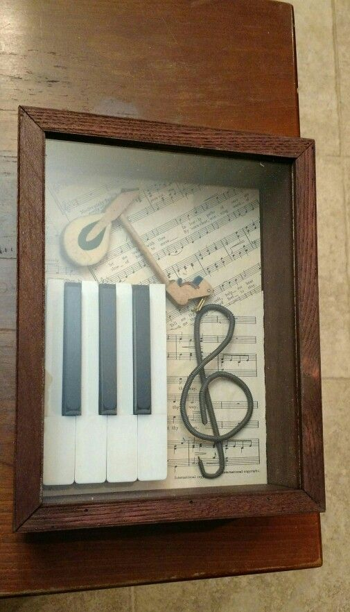 Piano shadow box 2