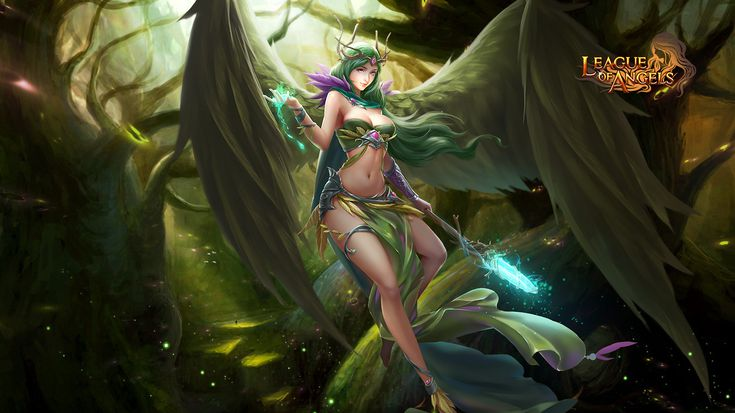Here You Can Find All The Latest League Of Angels Wallpapers Official Wallpaper Site Only In GTarcade