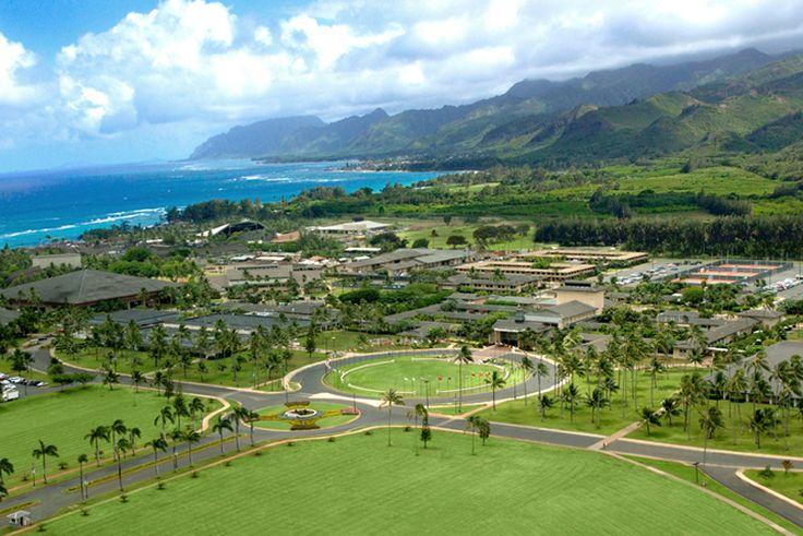BYU Hawaii in Laie Oahu.