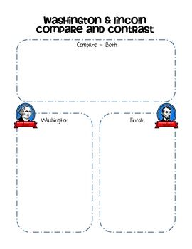 8 best venn diagrams images on pinterest venn diagrams teaching washington and lincoln compare contrast freebie ccuart Image collections