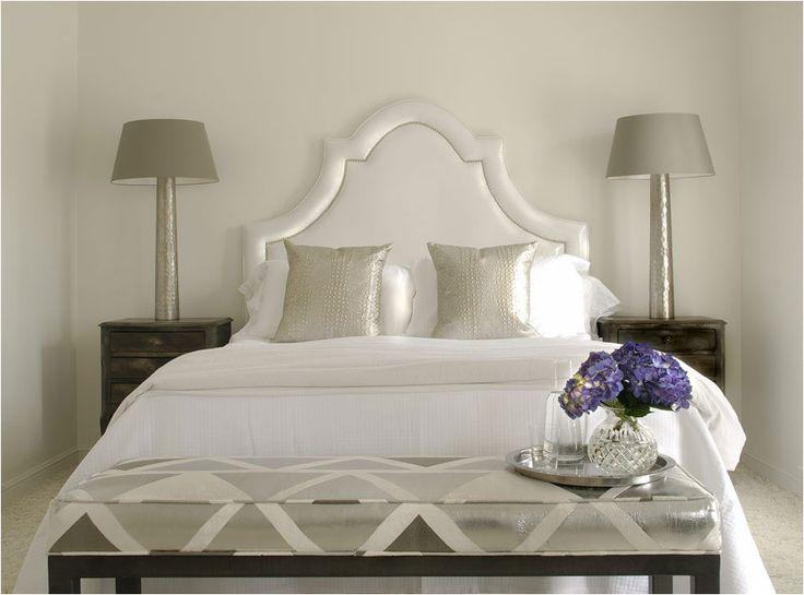 98 best White Bedrooms images on Pinterest   Bedroom decor ...