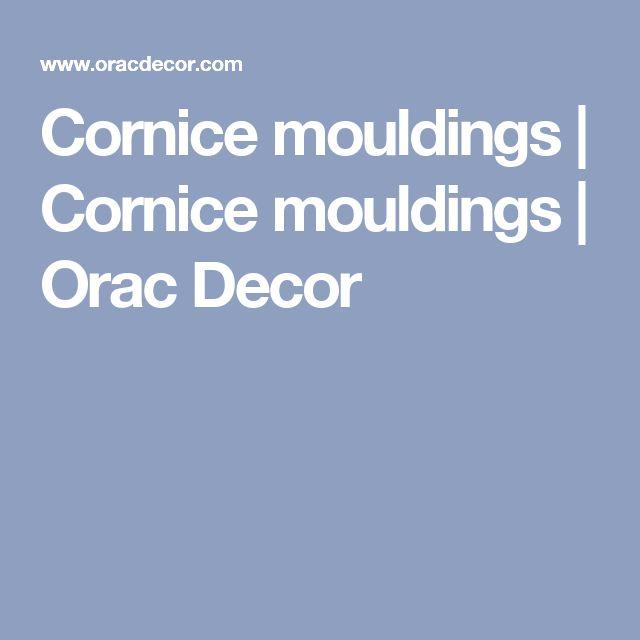 Cornice mouldings | Cornice mouldings | Orac Decor
