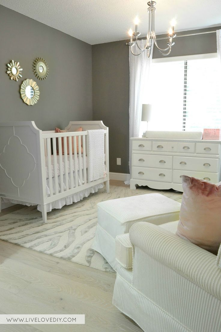 Best 25+ Pink gray nurseries ideas only on Pinterest | Gray ...