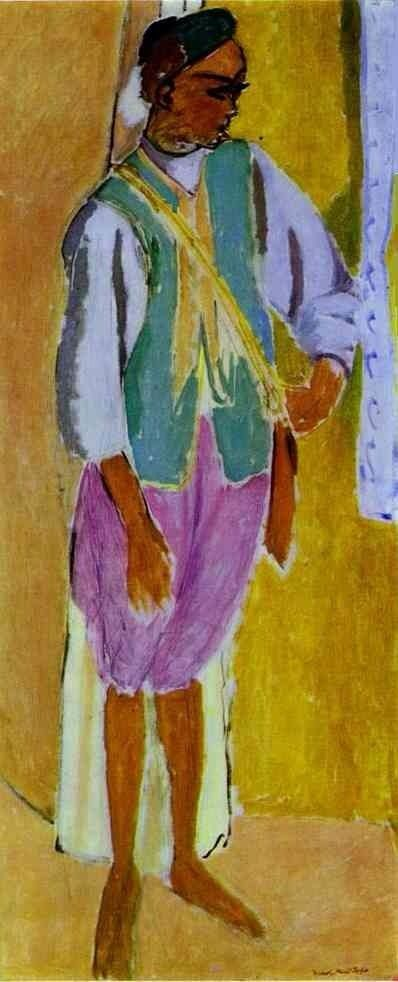 Henri Matisse , the Marrocan Amido