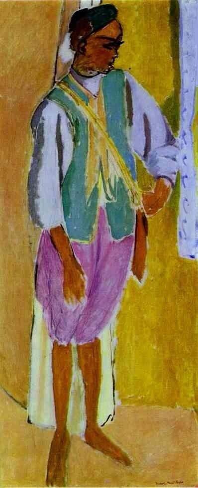 Henri Matisse , the Marrocan Amido