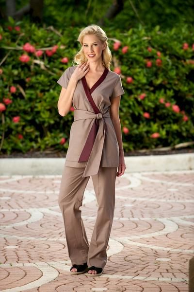 1000 ideas about spa uniform on pinterest esthetics for Hotel uniform spa