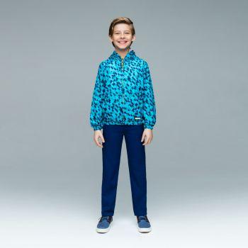 Ветровка для мальчика, цвет бирюзовый
