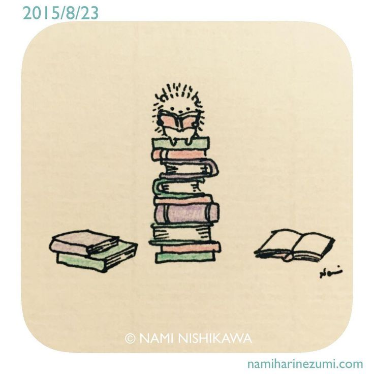 "844 mentions J'aime, 16 commentaires - なみはりねずみ (@namiharinezumi) sur Instagram : ""587 #illustration #hedgehog #イラスト #ハリネズミ #illustagram"""