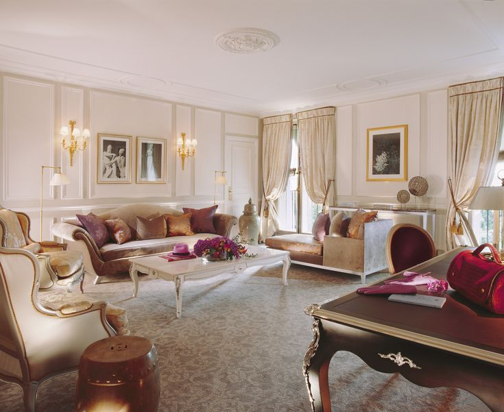 Charles Jouffre 5 Real Regal Living: 12 Palace Inspired Home Inspirations#interiordesign