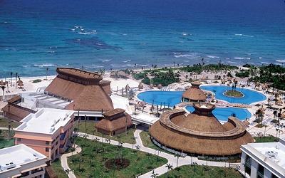 Gran Bahia Principe Tulum, Riviera Maya Mexico - not my fav place .