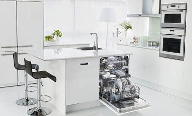 This sleek Asko dishwasher is available at Avenue Appliance Store in Edmonton, Alberta.