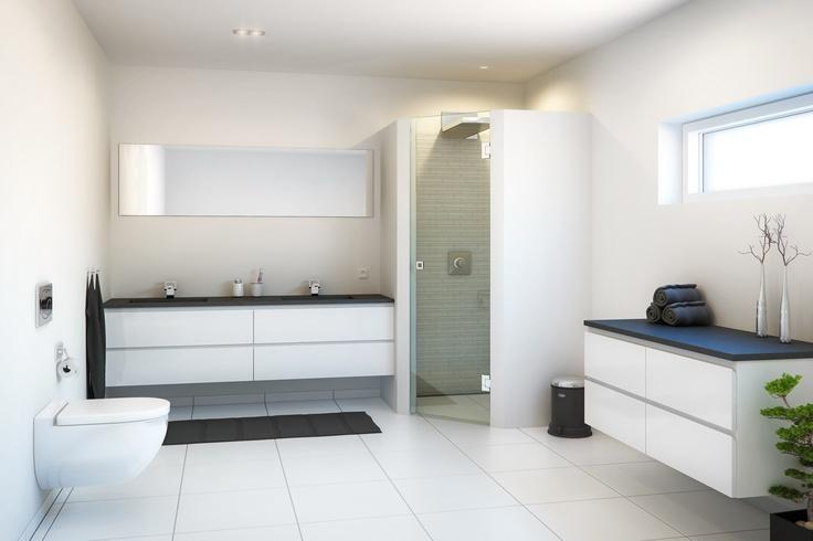 Flot badeværelses miljø (-; Find billige toiletter på tilbud.