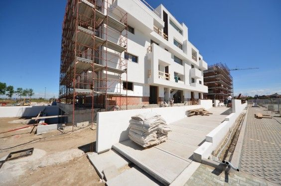 May 2014 - Building A almost finished! #workinprogress #soleis #realestate #forsale #italy #lignano