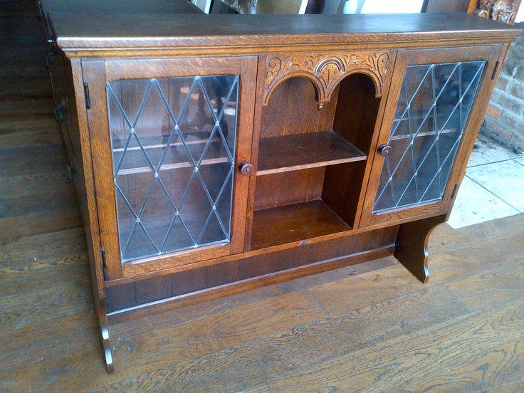 Old Charm Dresser (2) Top Solid Oak