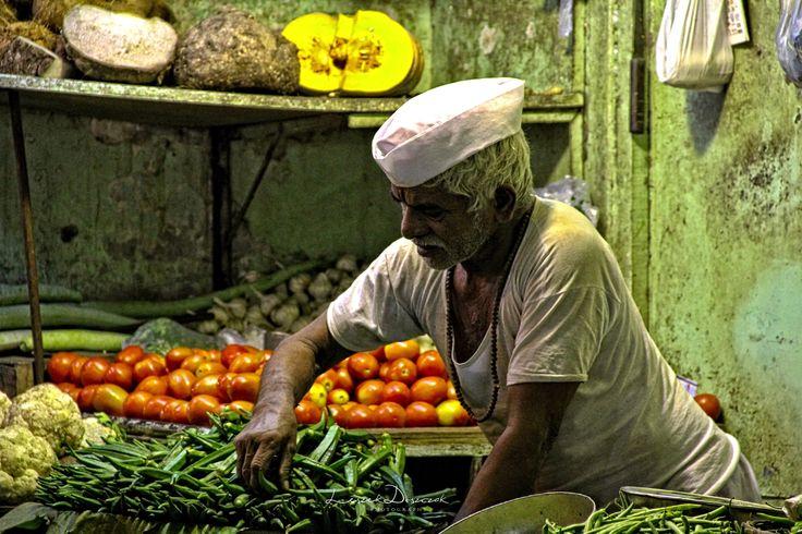 Mumbai market, Leszek Doszczak