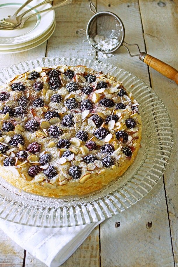 Blackberry Almond Buttermilk Cake | Breads & Dessert | Pinterest ...