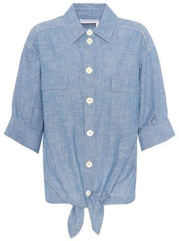 Chloé Cotton chambray shirt