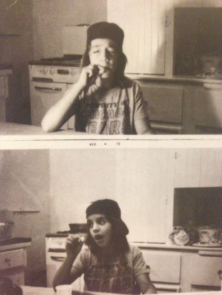 Anthony Kiedis smoking his first joint, aged 11 | {w i l d ...