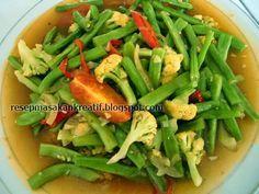 Resep Tumis Buncis Saus Tiram   Resep Masakan Indonesia (Indonesian Food Recipes)