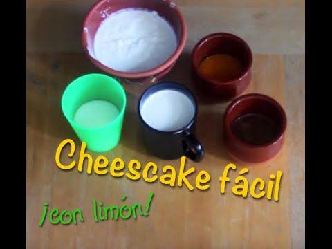 Como hacer Cheescake (muy fácil)