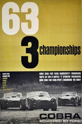 Original Shelby Poster