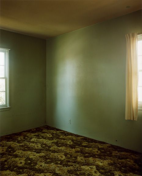 "Todd Hido : ""I made these photographs of foreclosed homes back in the mid-90s in Los Angeles —  the City of Dreams. I have always been haunted by these places, thinking of all the broken  lives, and how they mirrored my own unstable childhood."""
