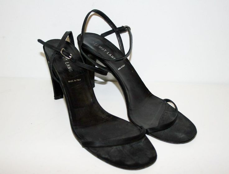 sandals (eu sz 40.5) • helmut lang  £9.93 buy it now  note: all you chic trannies better act fast.