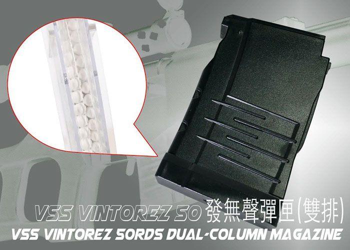 LCT VSS Vintorez Magazines Released