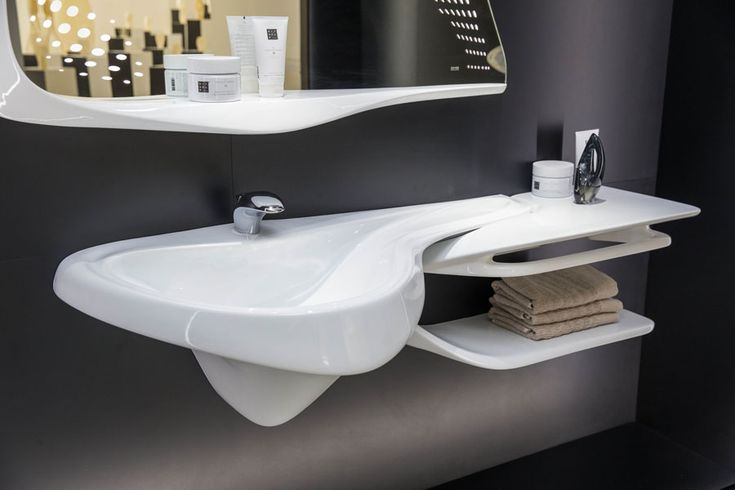 VITAE and #bathroom design. The natural inspiration by Zaha Hadid arrives in #London