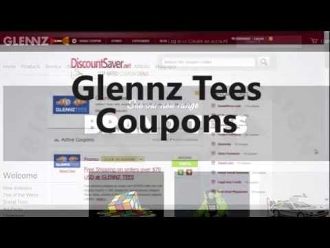 Glennz Tees Coupon 2015 - New Glennz Tees Coupon Codes