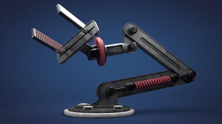 Robotic Arm -- Cinema 4D Tutorial