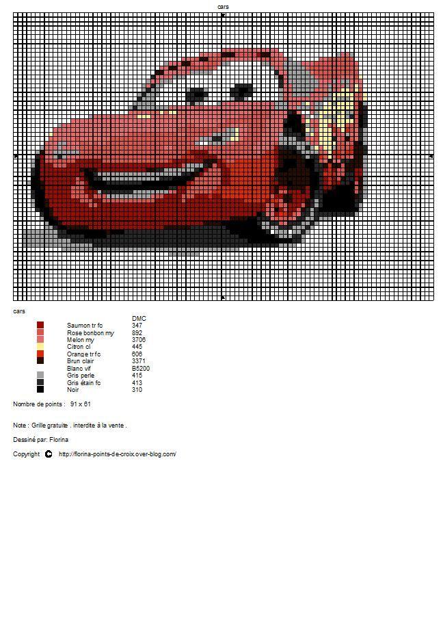 modele tricot facile the cars