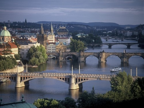 Prague...I want to live there one day